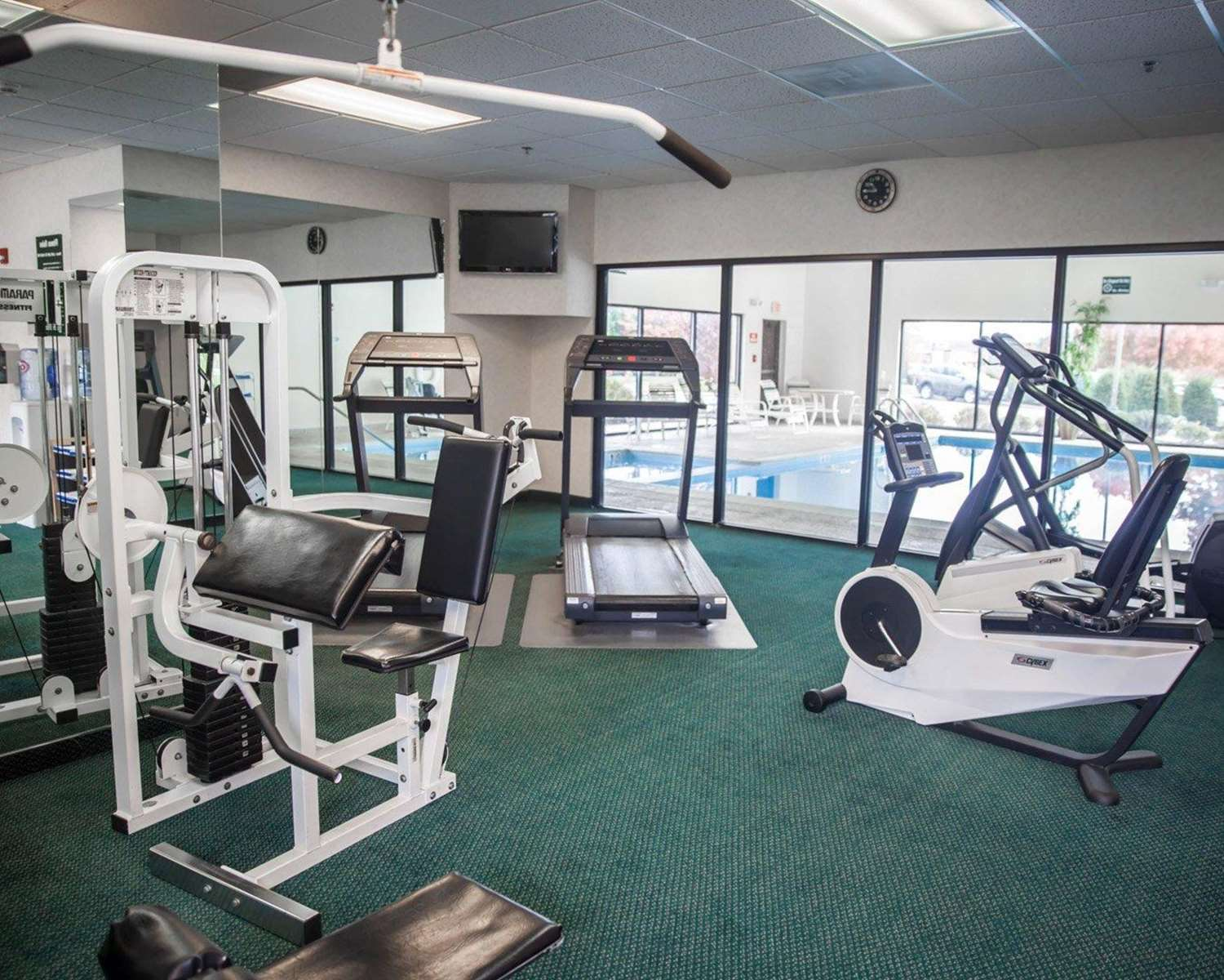 Fitness/ Exercise Room - Sleep Inn & Suites Hagerstown