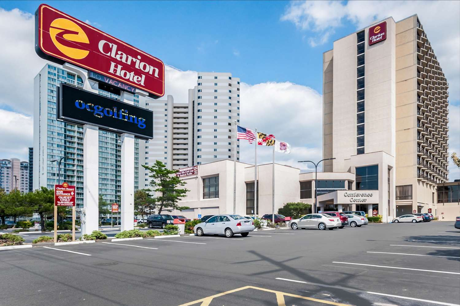Exterior view - Clarion Resort Fontainebleau Ocean City