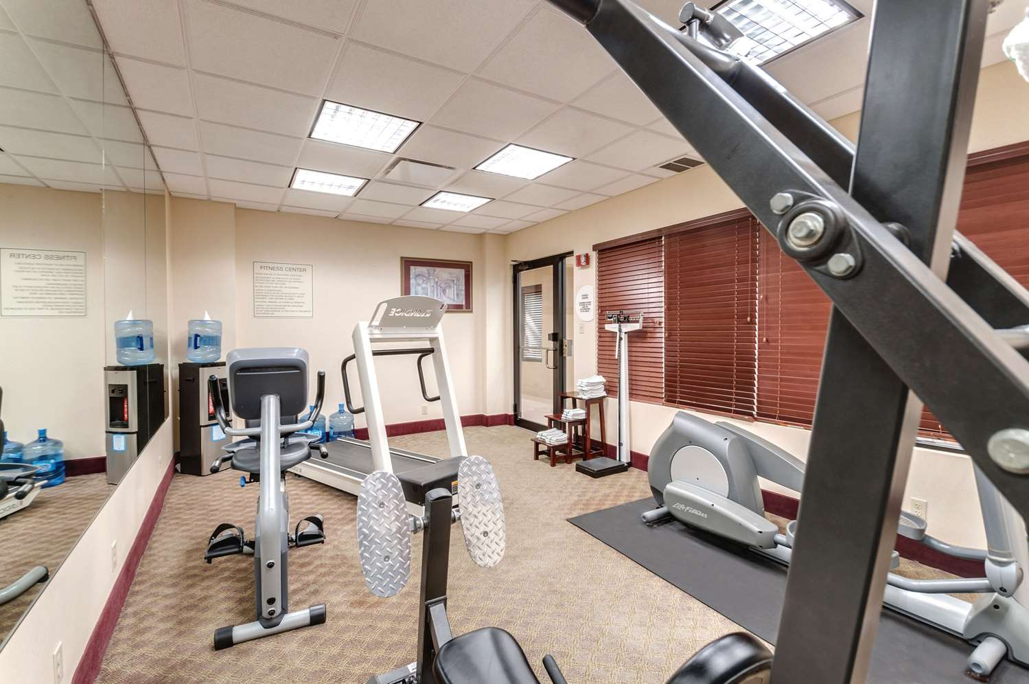 Fitness/ Exercise Room - Comfort Inn & Suites Edgewood