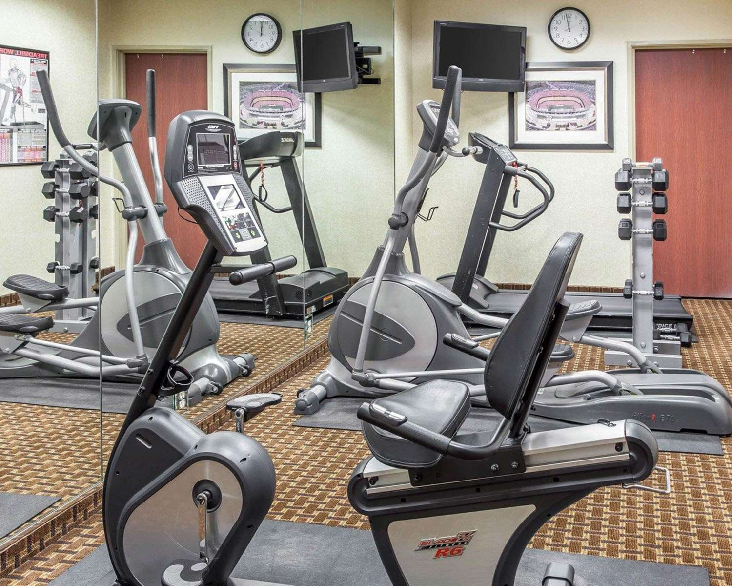 Fitness/ Exercise Room - Sleep Inn & Suites Upper Marlboro