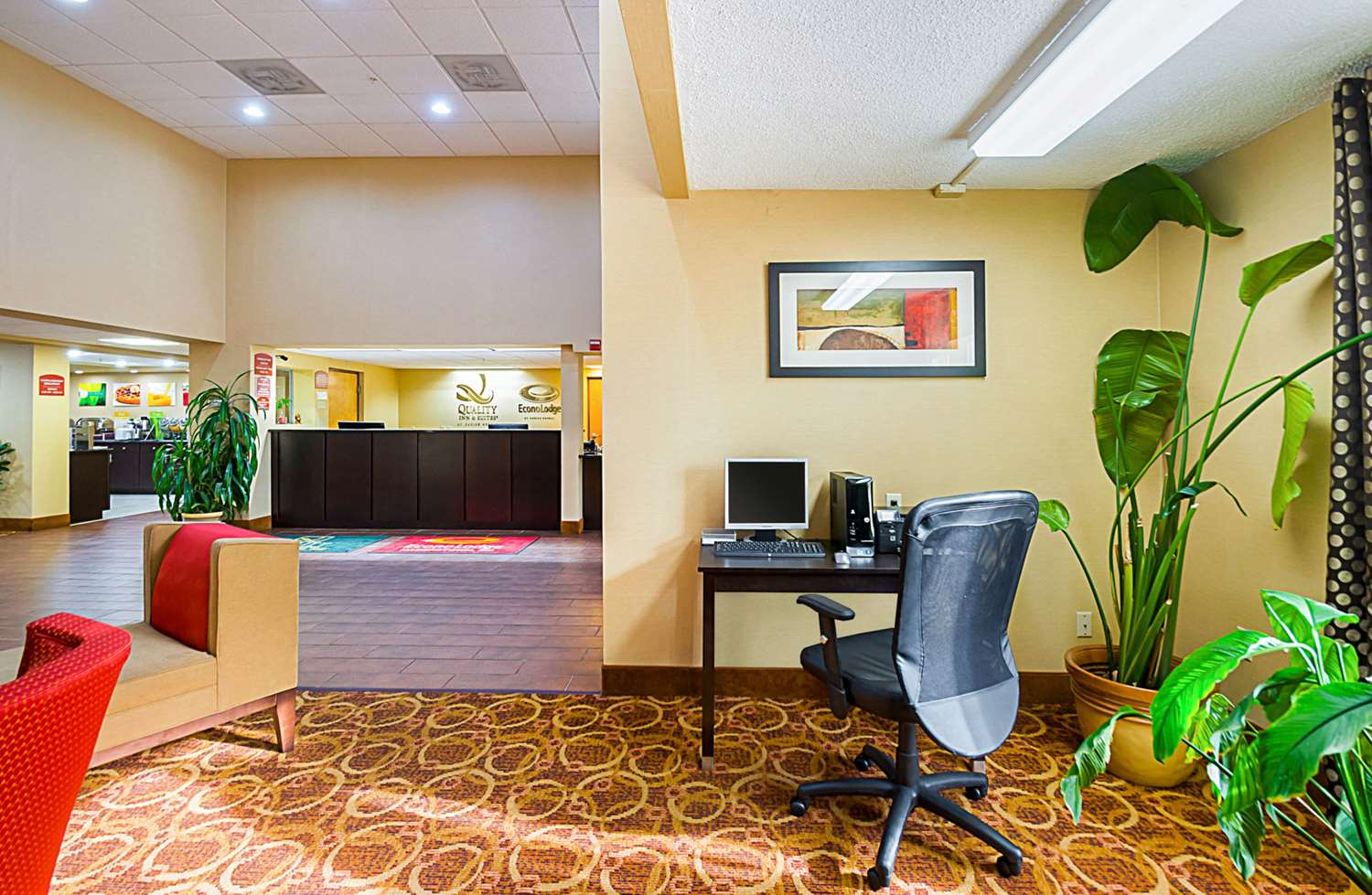 Conference Area - Econo Lodge Hagerstown
