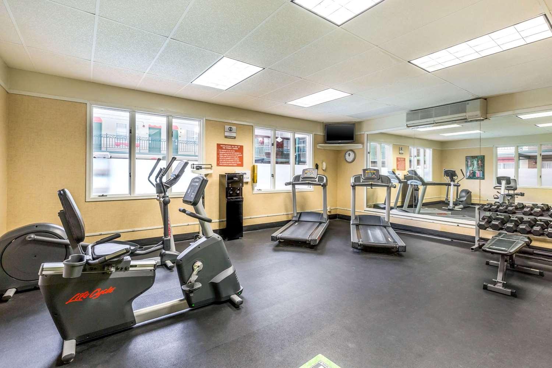 Fitness/ Exercise Room - Clarion Inn Event Center Frederick