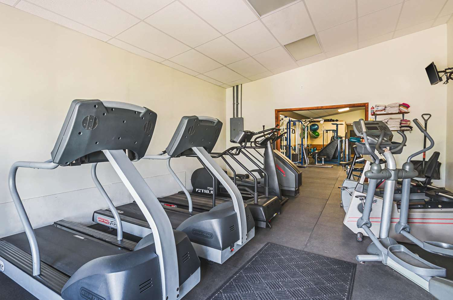 Fitness/ Exercise Room - Quality Inn & Suites Frostburg