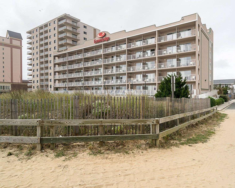 Exterior view - Econo Lodge Oceanfront Ocean City