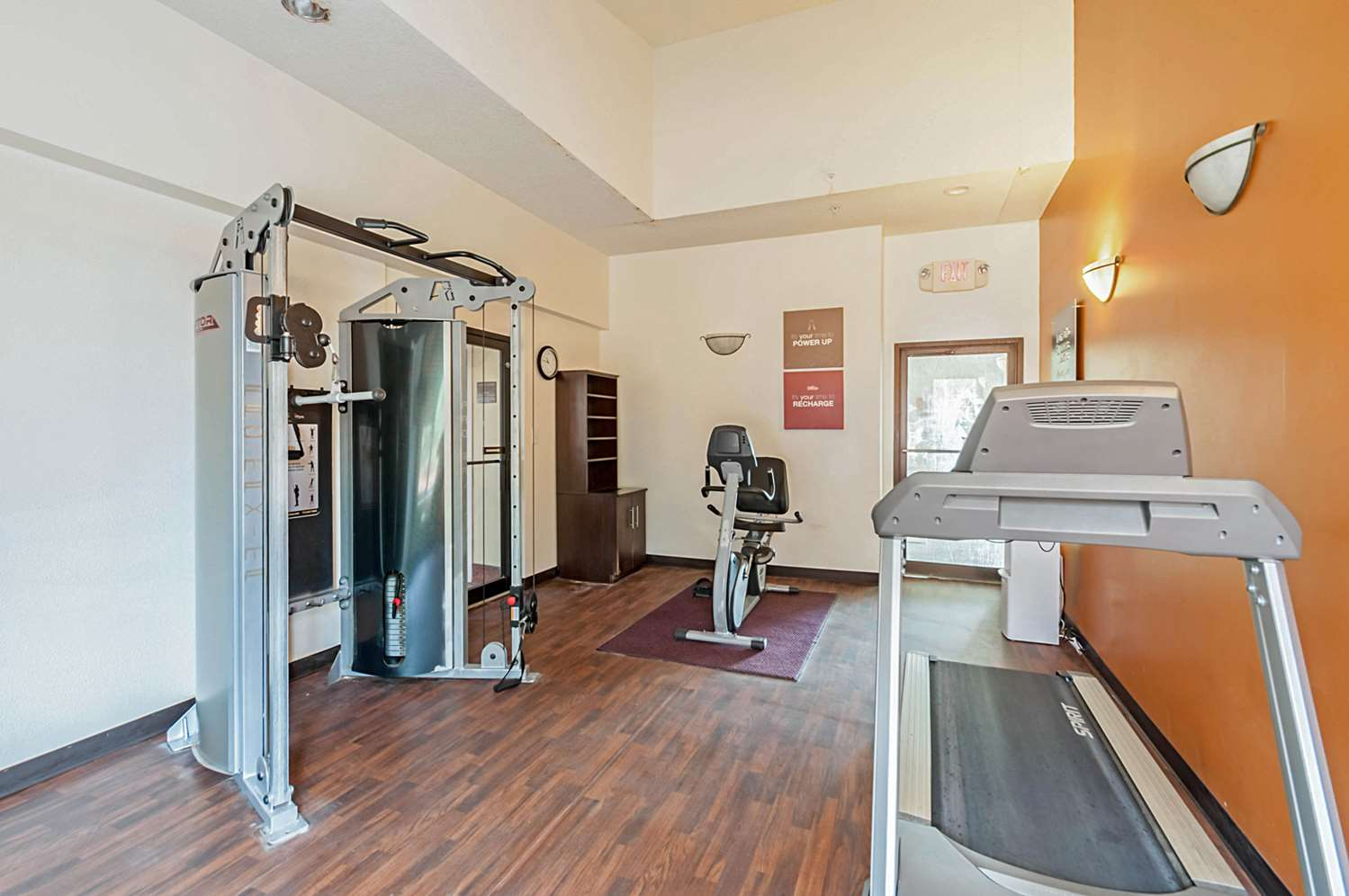 Fitness/ Exercise Room - Quality Suites Chestertown