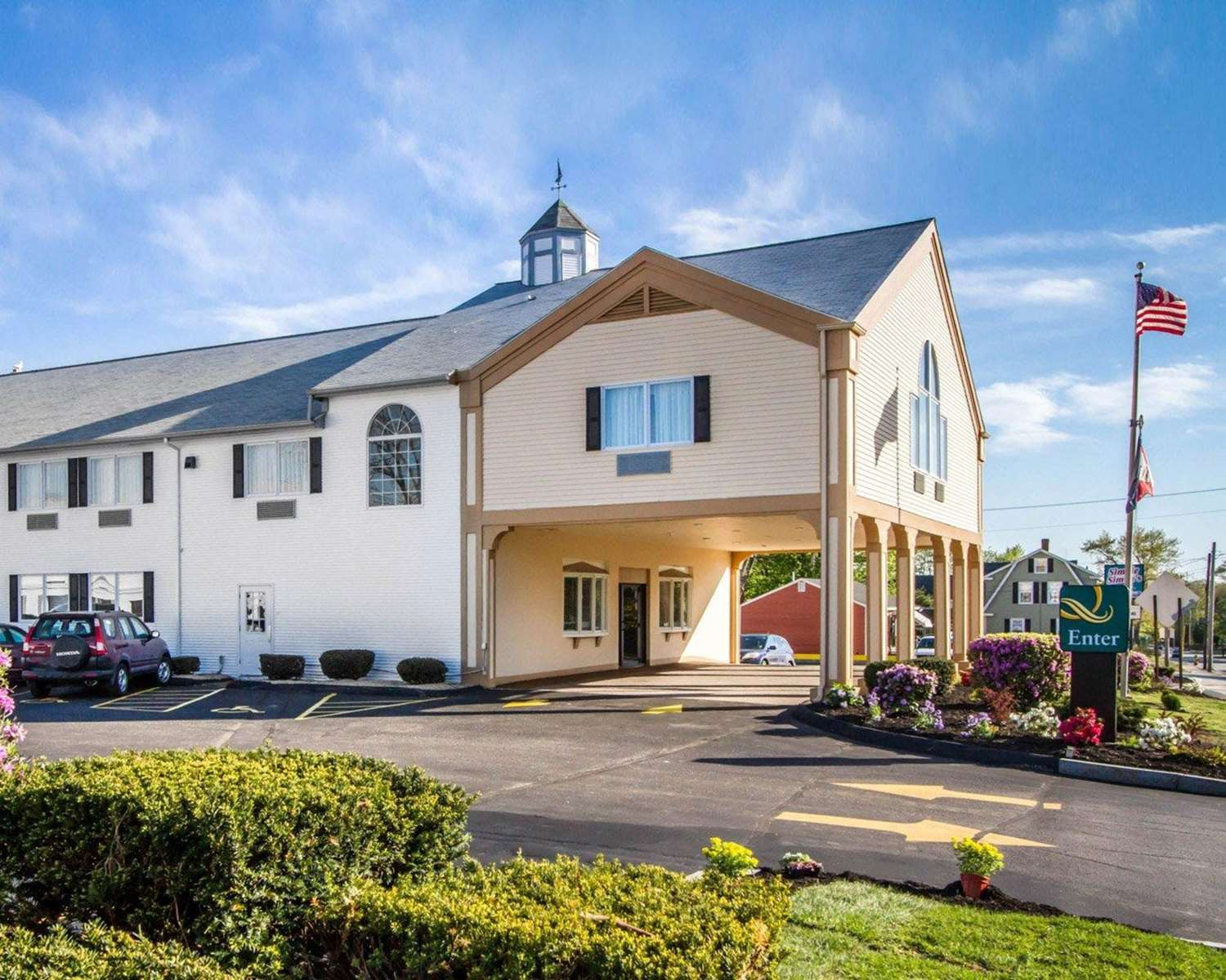 Exterior view - Quality Inn & Suites South Portland