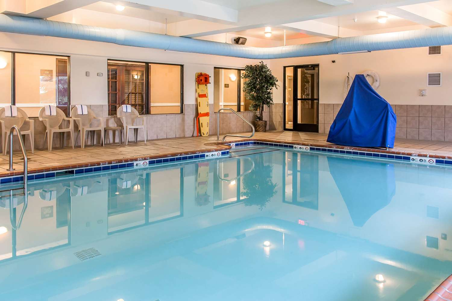 Pool - Comfort Suites Wixom