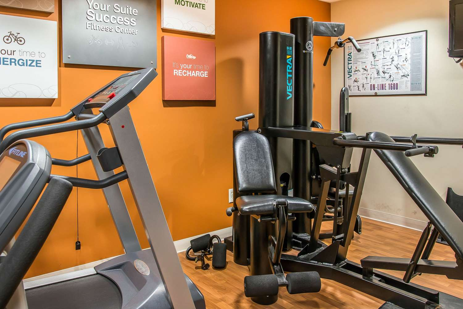 Fitness/ Exercise Room - Comfort Suites Wixom