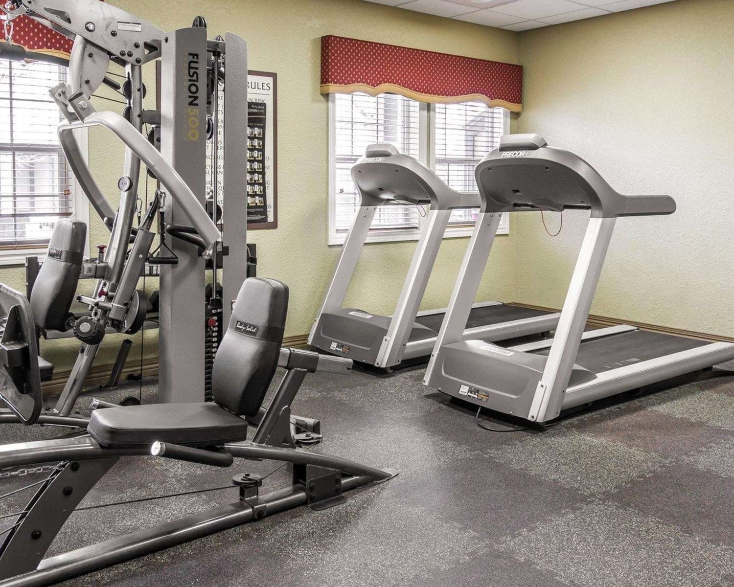 Fitness/ Exercise Room - Mountain Run Hotel by Bluegreen Vacations Boyne Falls