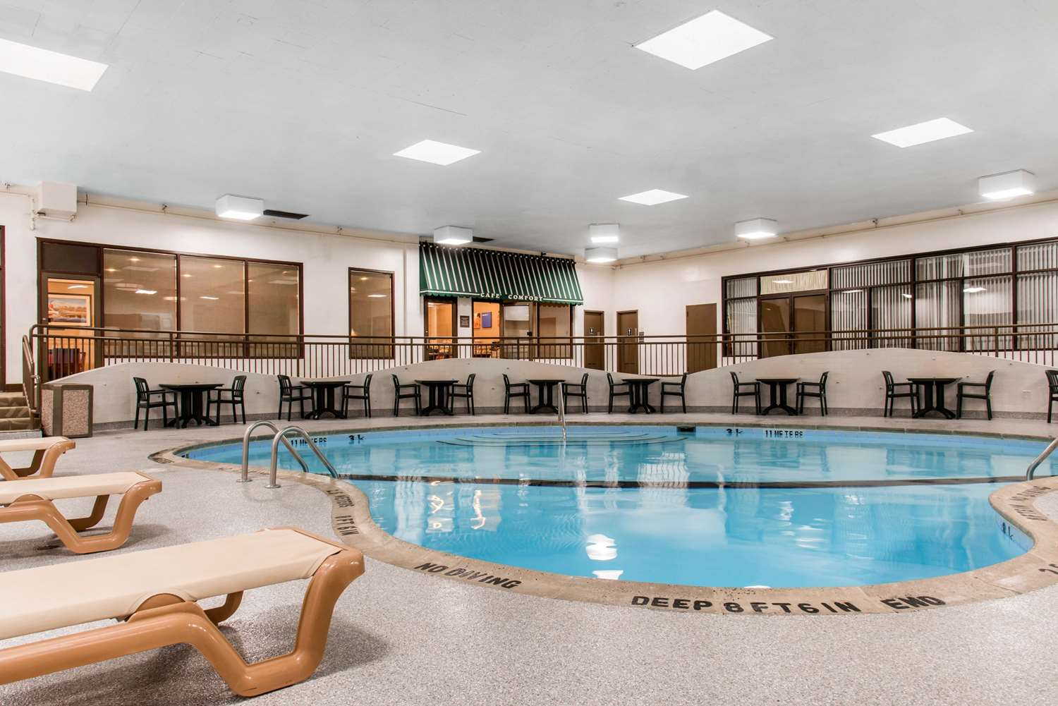 Pool - Comfort Inn Minneapolis Airport Bloomington