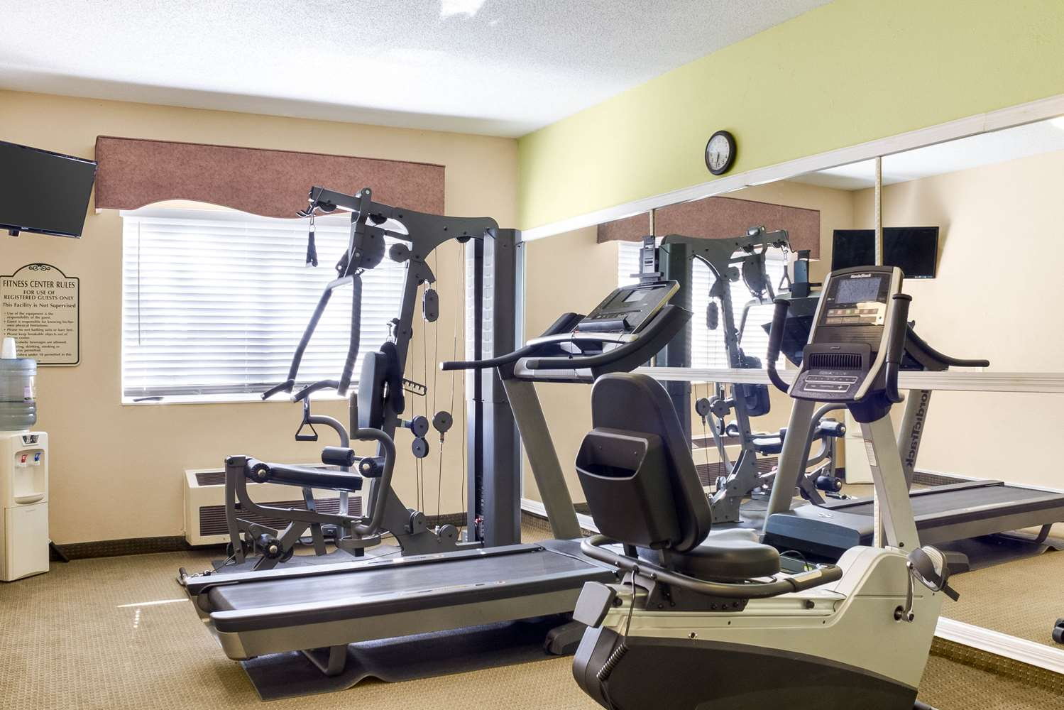 Fitness/ Exercise Room - Quality Inn Bemidji
