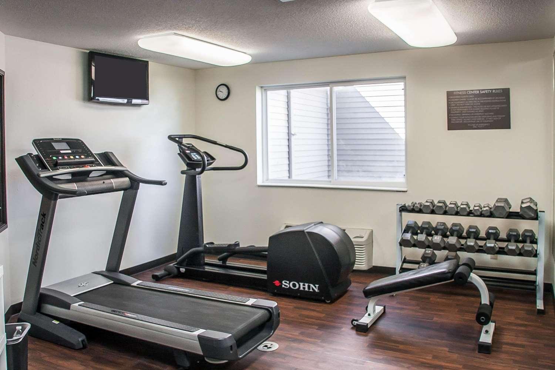 Fitness/ Exercise Room - Comfort Inn Fergus Falls