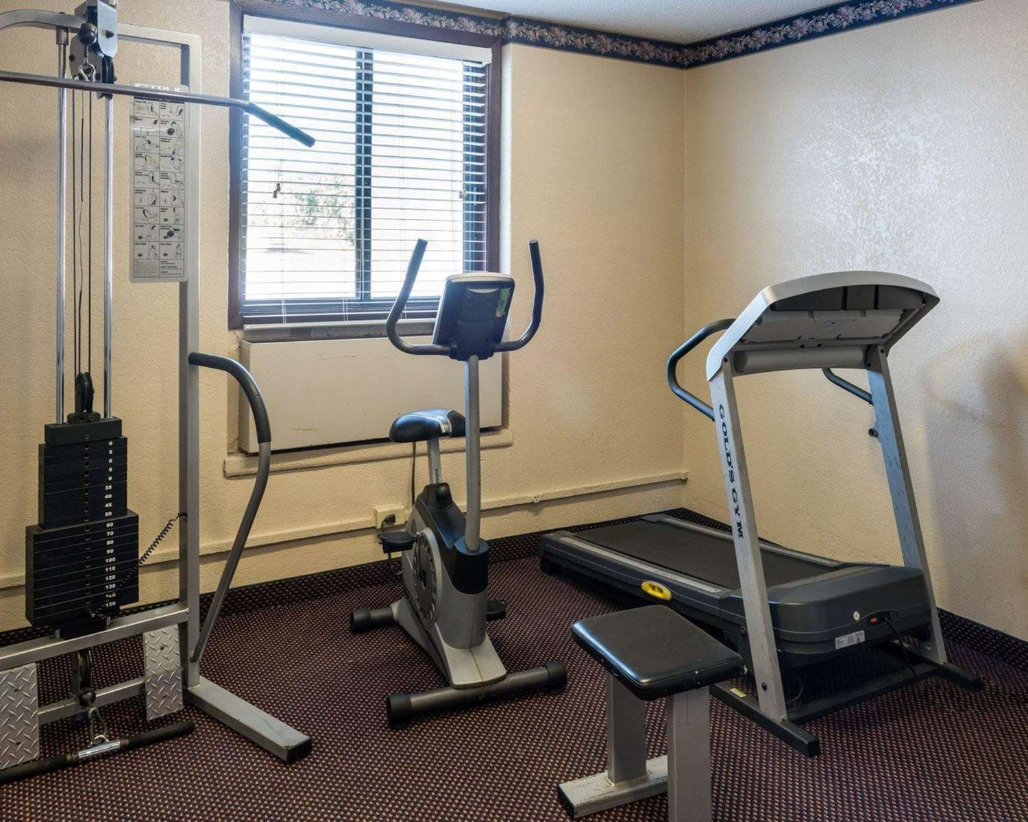 Fitness/ Exercise Room - Quality Inn Savage