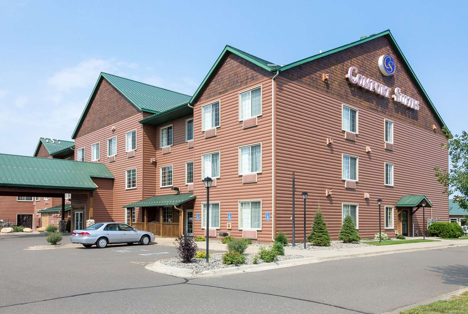 Exterior view - Comfort Suites Rapid River Lodge Baxter