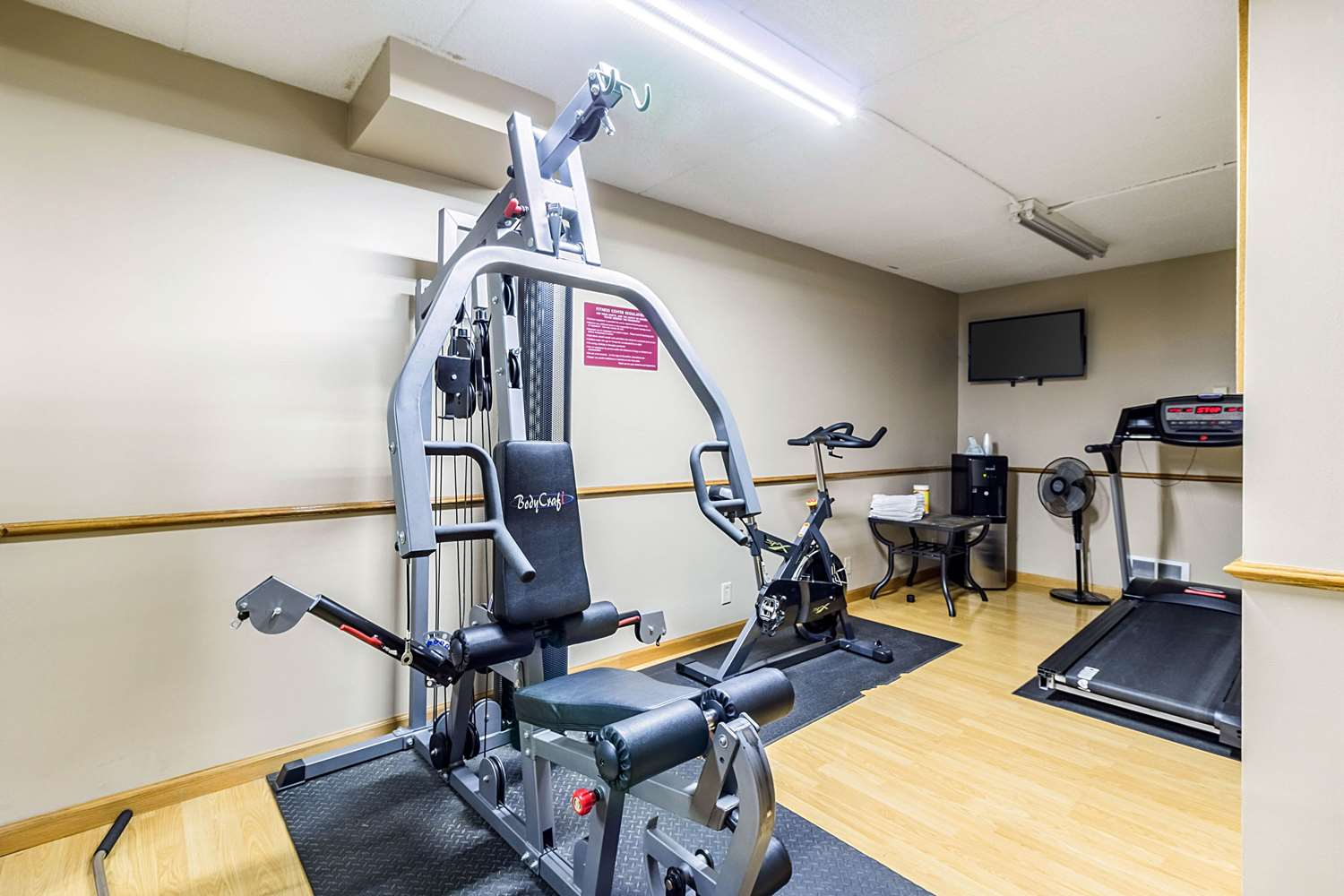 Fitness/ Exercise Room - Quality Inn & Suites Arden Hills