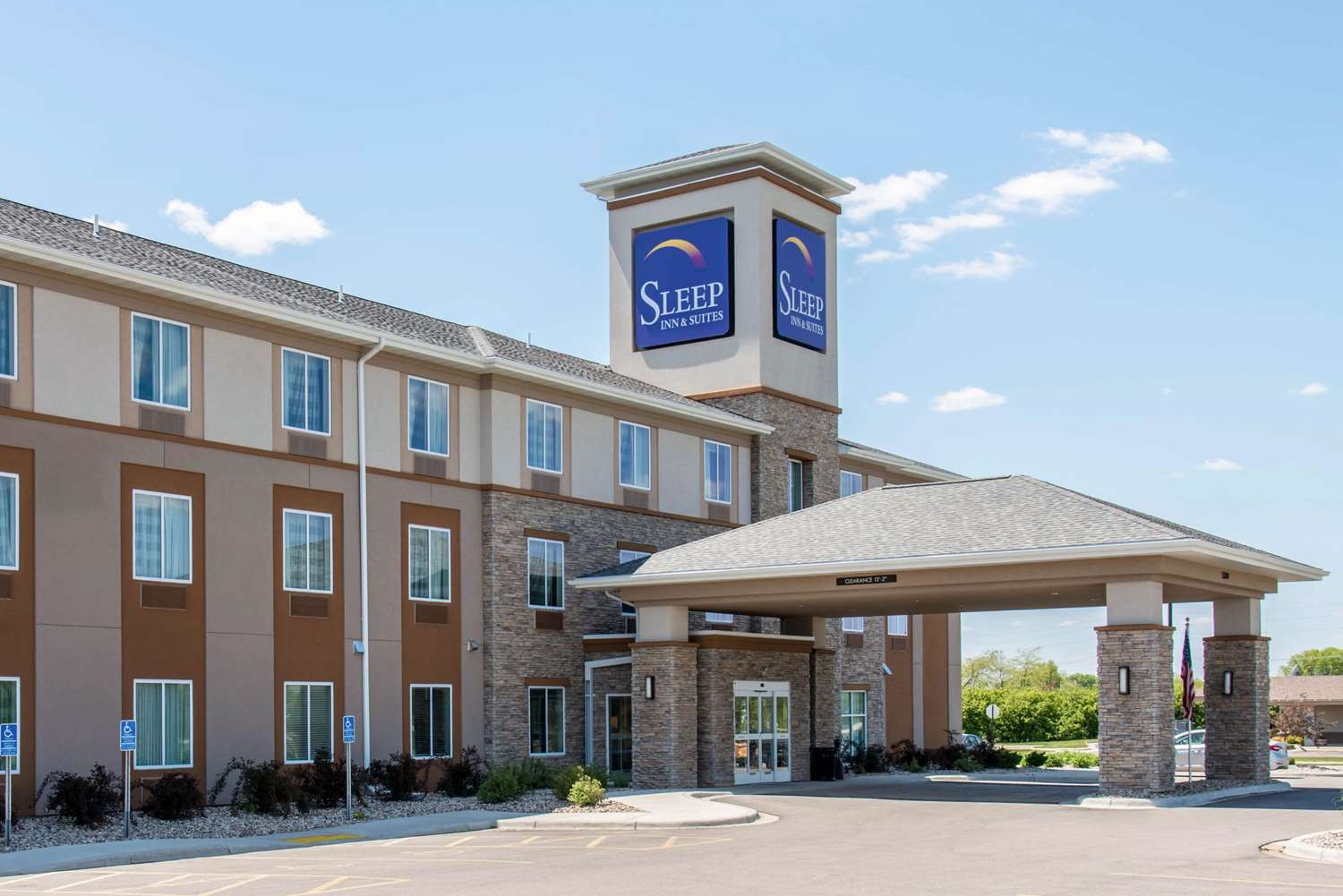 Exterior view - Sleep Inn & Suites Marshall