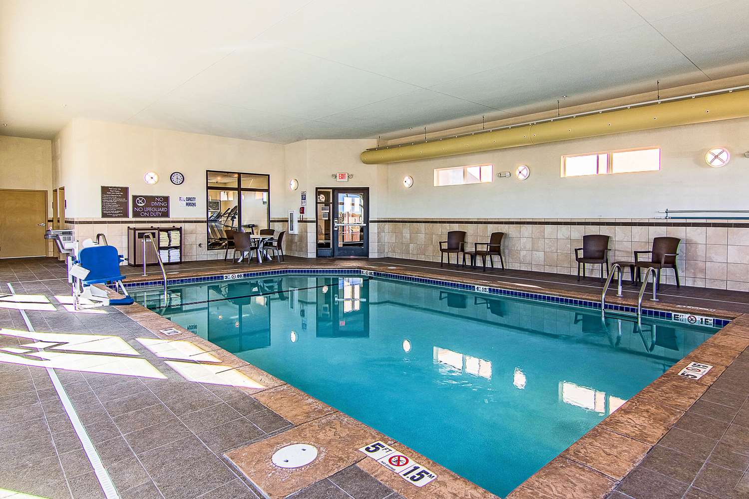 Pool - Mainstay Suites Rochester