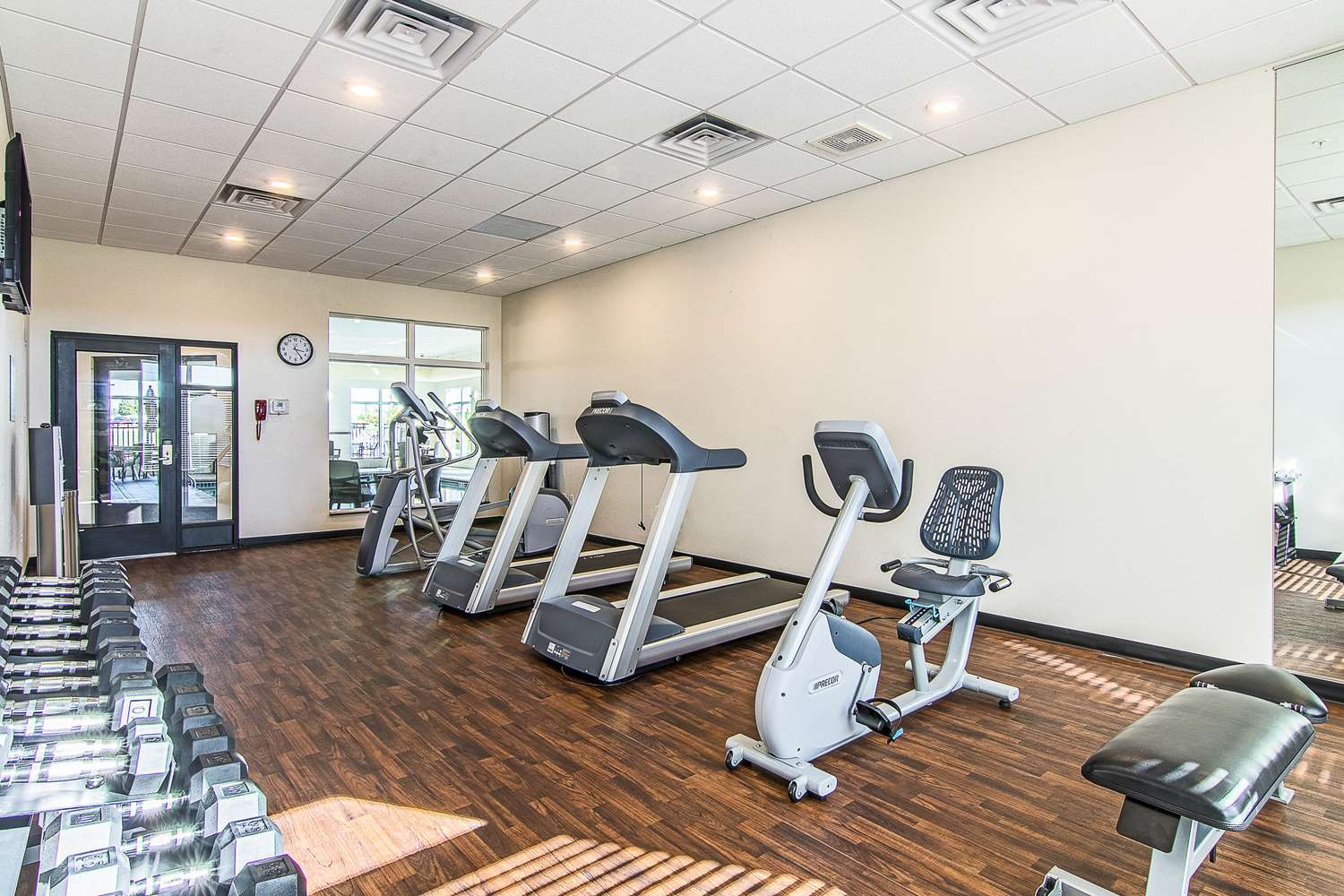 Fitness/ Exercise Room - Mainstay Suites Rochester
