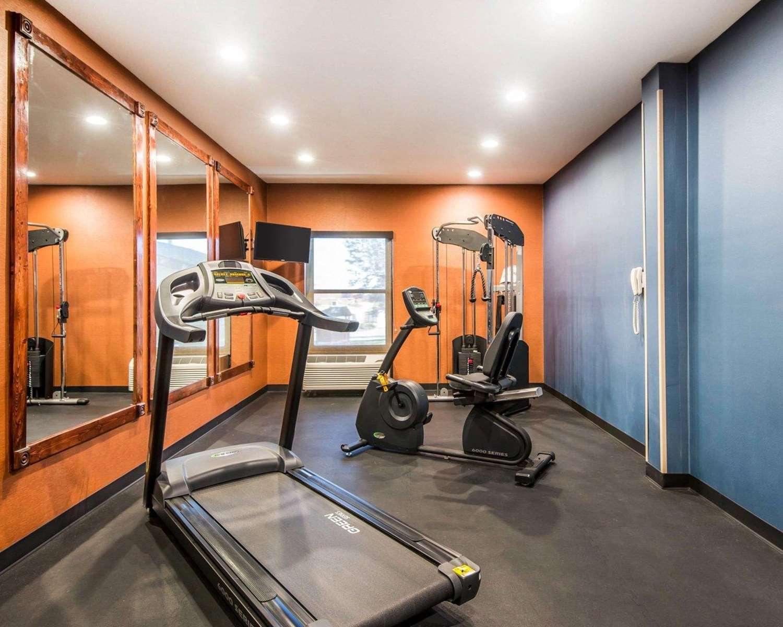 Fitness/ Exercise Room - Quality Inn Cameron