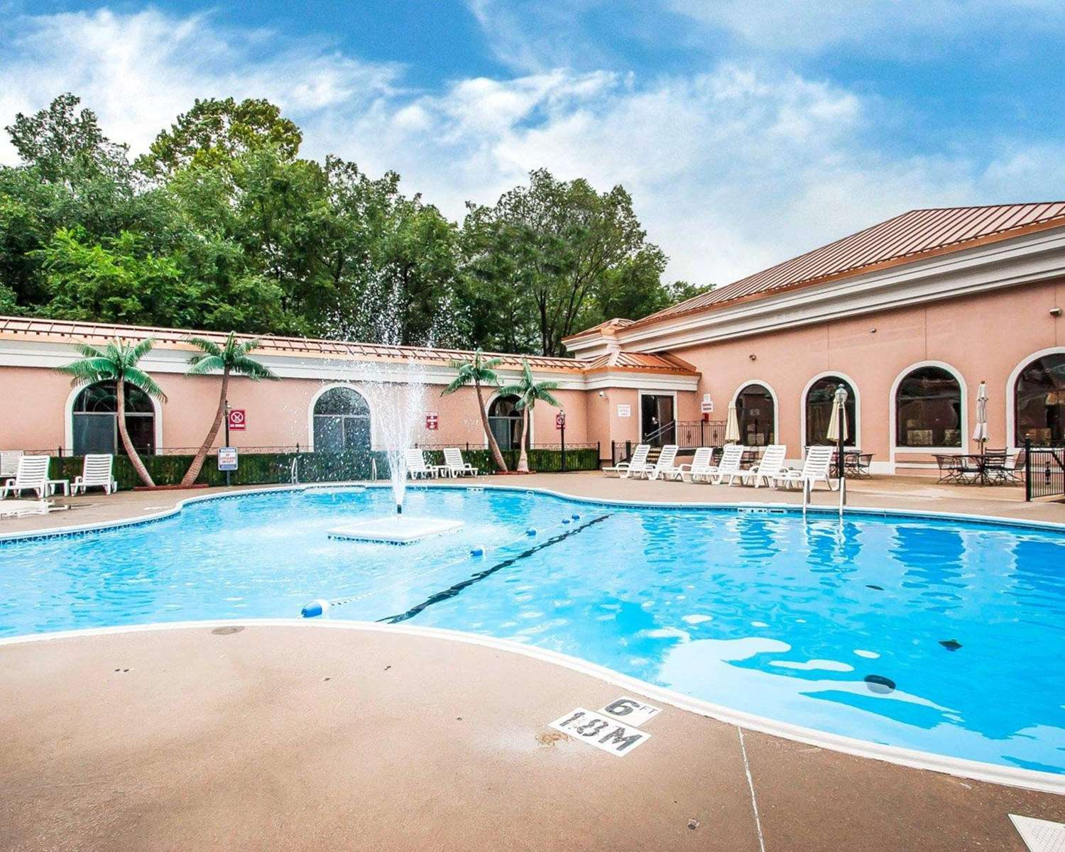 Pool - Clarion Hotel at the Palace Branson
