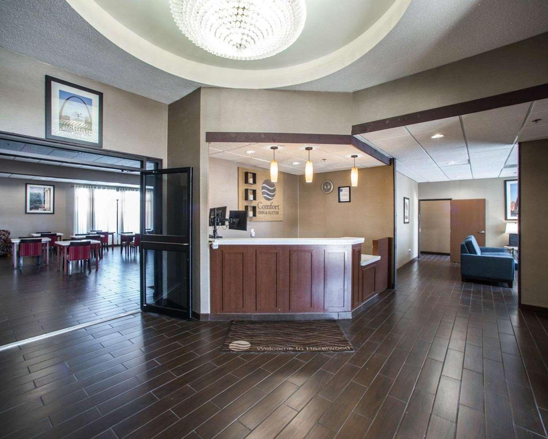 Lobby - Comfort Inn & Suites Hazelwood