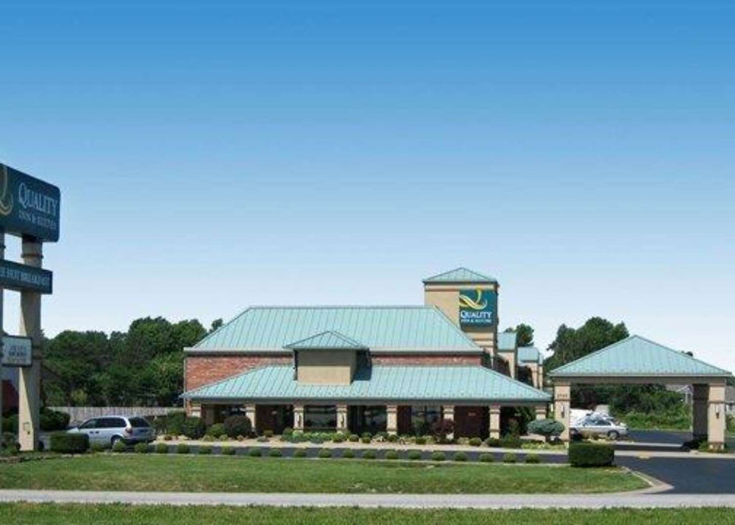 Exterior view - Quality Inn & Suites North Glenstone Springfield