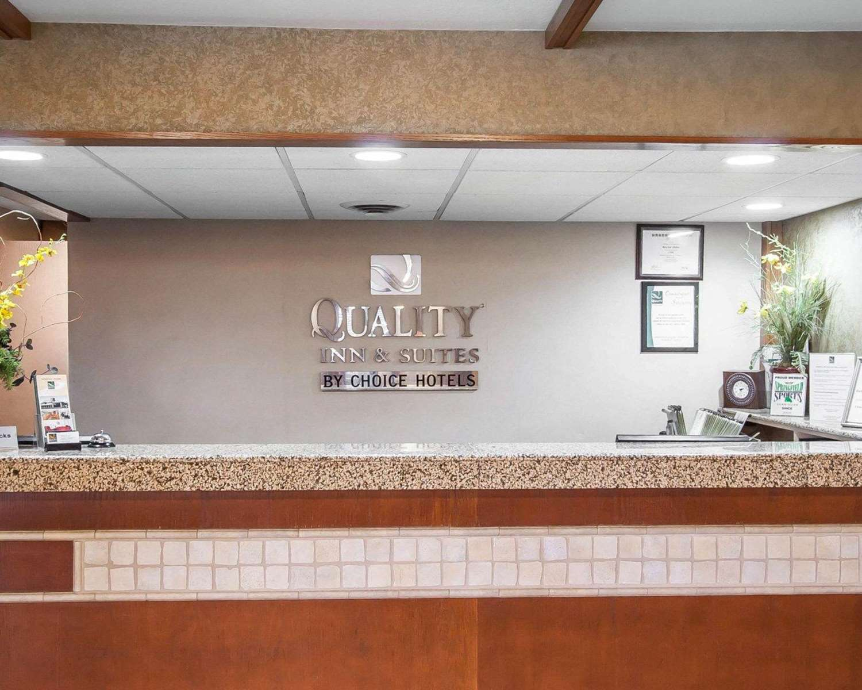 Lobby - Quality Inn & Suites North Glenstone Springfield
