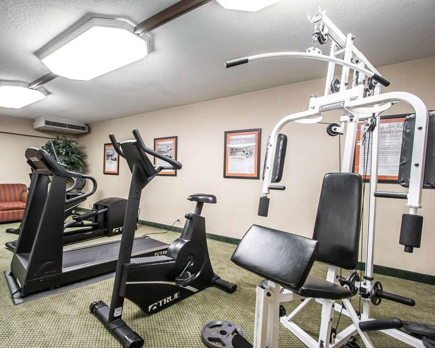 Fitness/ Exercise Room - Quality Inn & Suites North Glenstone Springfield
