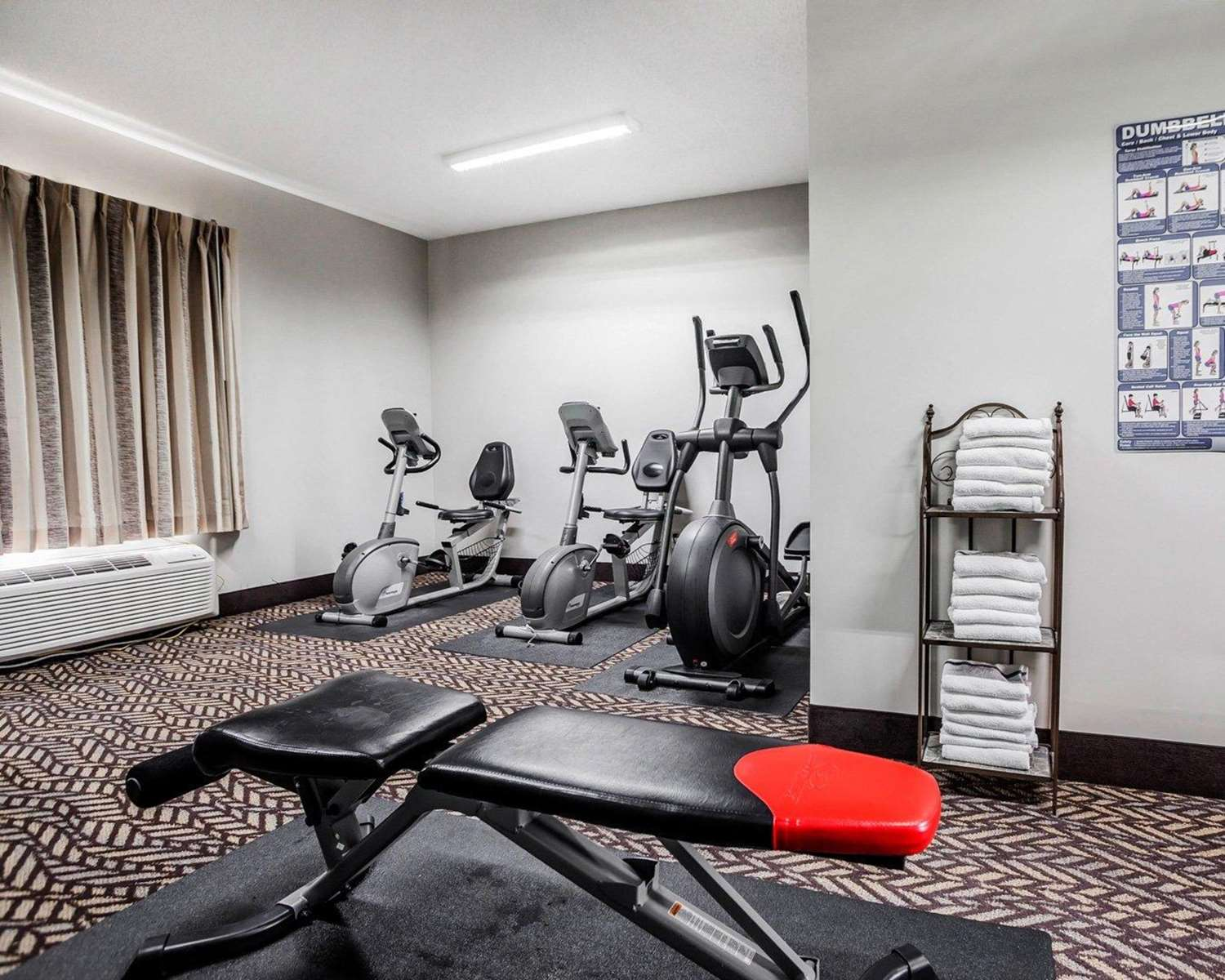 Fitness/ Exercise Room - Quality Inn & Suites Platte City