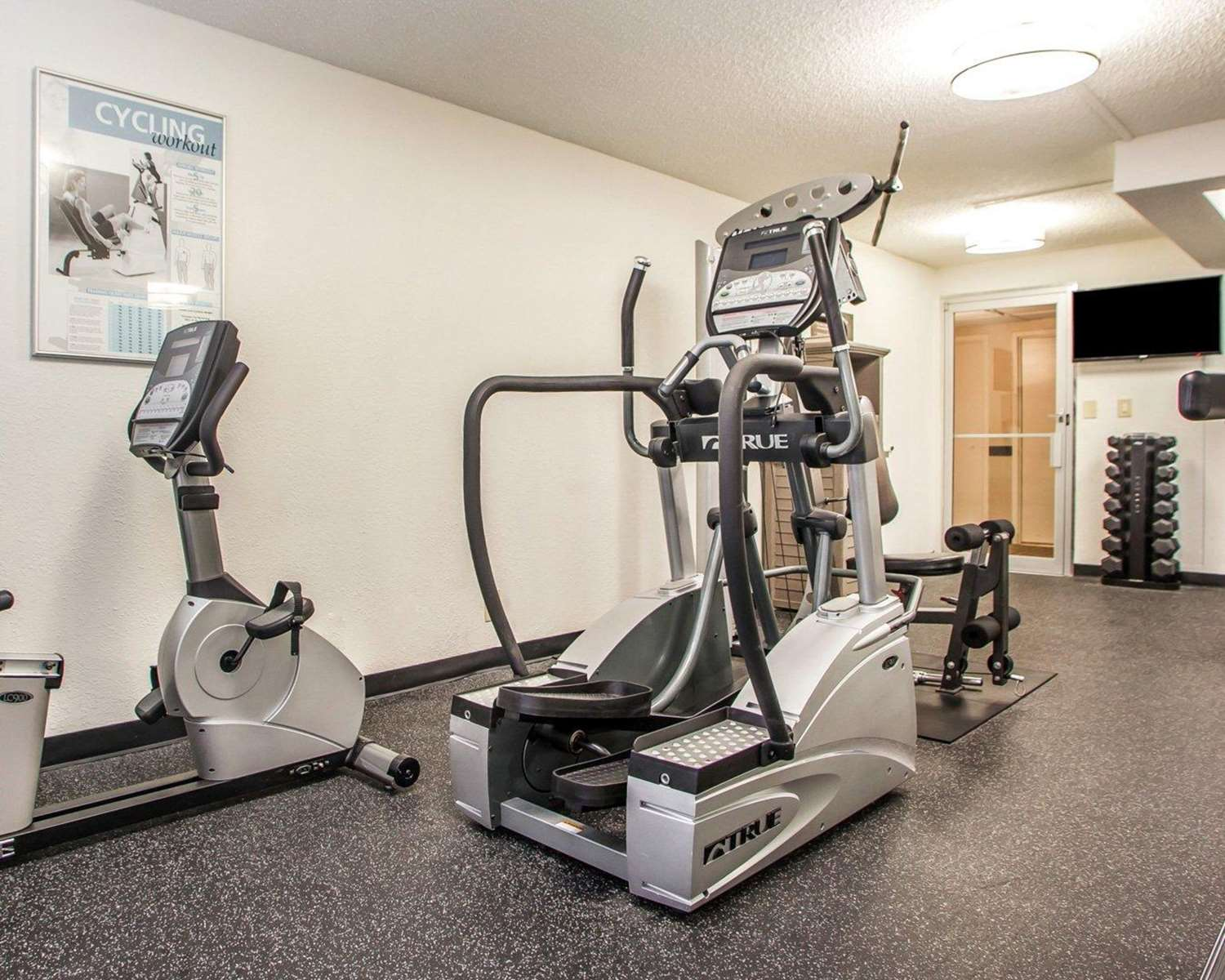Fitness/ Exercise Room - Comfort Inn Conference Center Maryland Heights