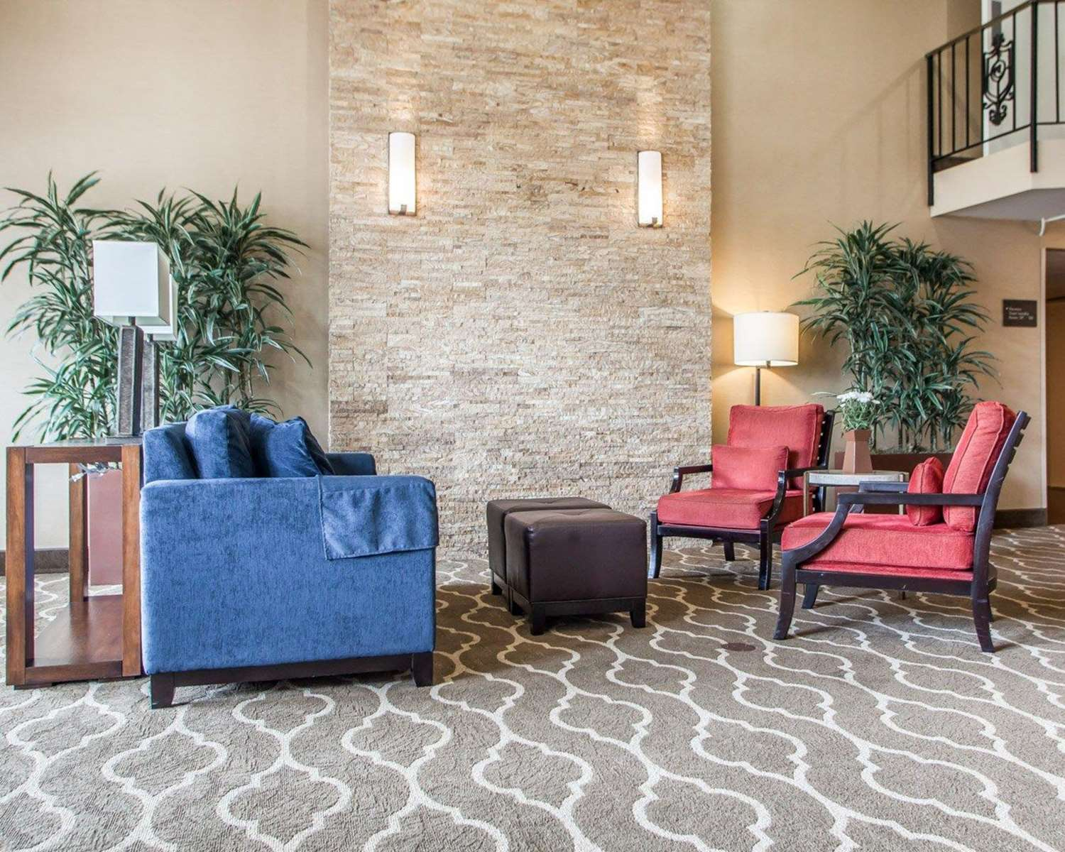 Lobby - Comfort Inn Conference Center Maryland Heights