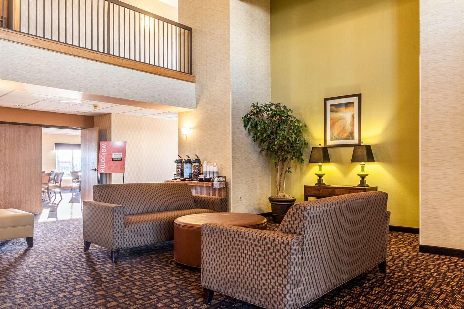 Lobby - Comfort Inn Clarksdale