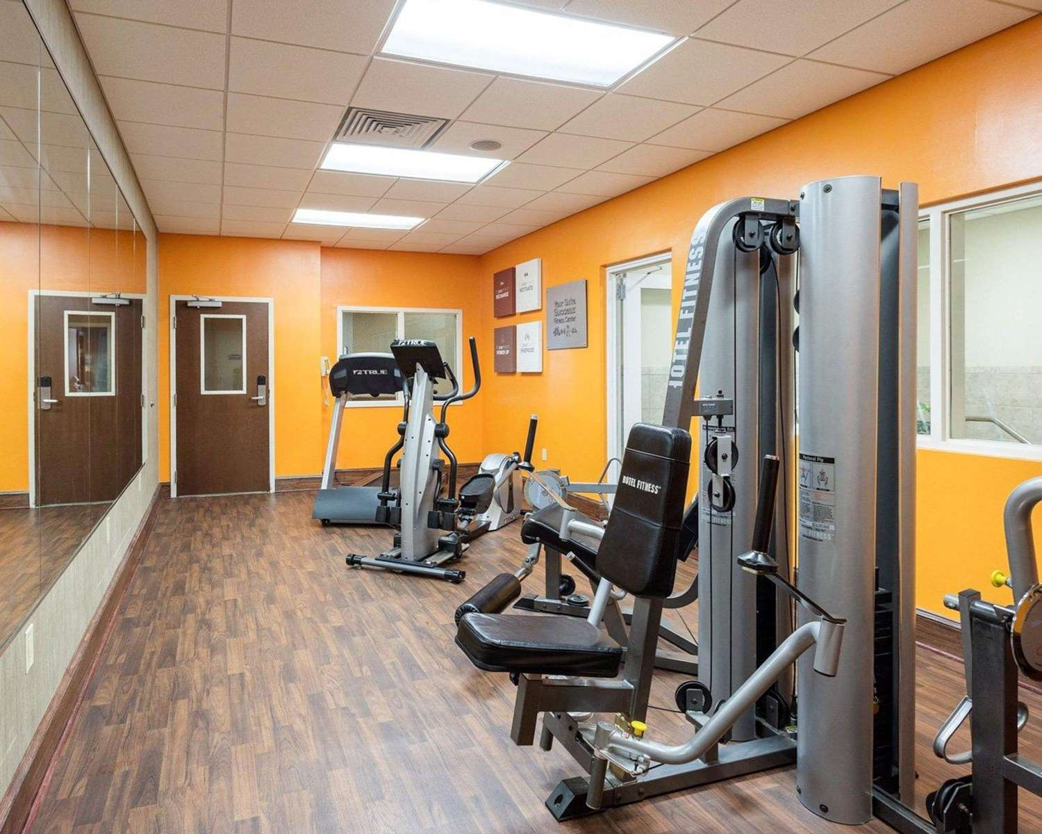 Fitness/ Exercise Room - Comfort Suites Olive Branch