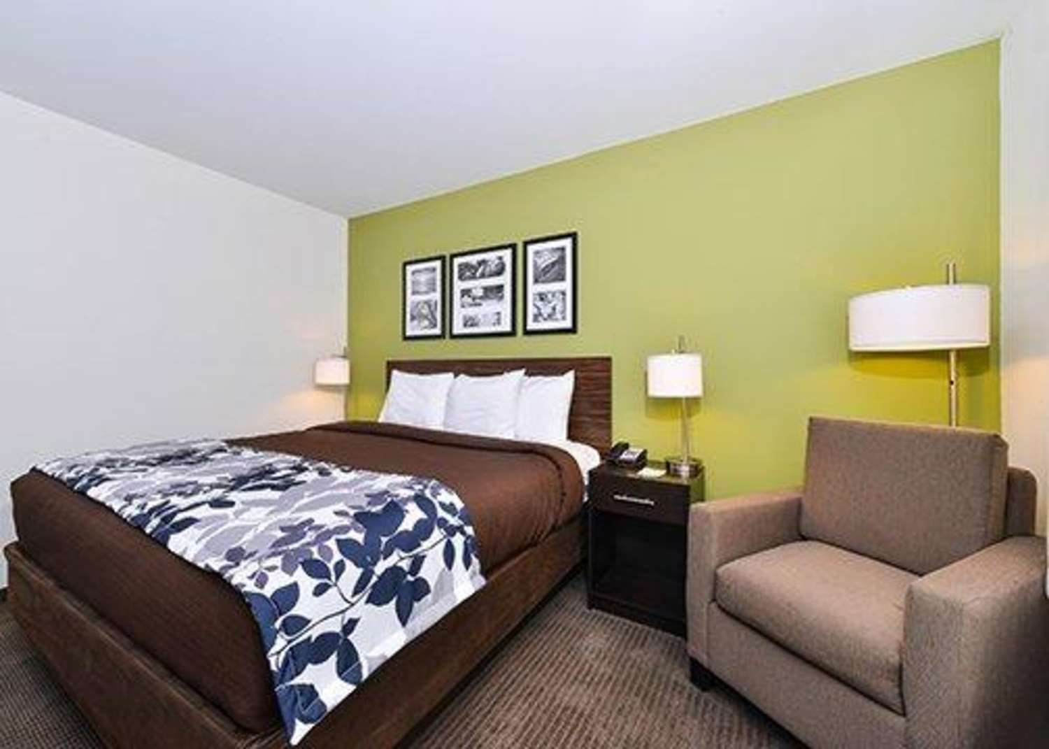Room - Sleep Inn & Suites Gulfport