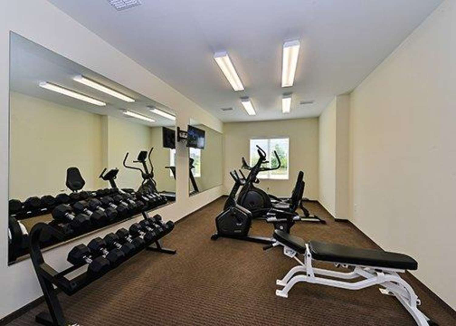 Fitness/ Exercise Room - Sleep Inn & Suites Gulfport