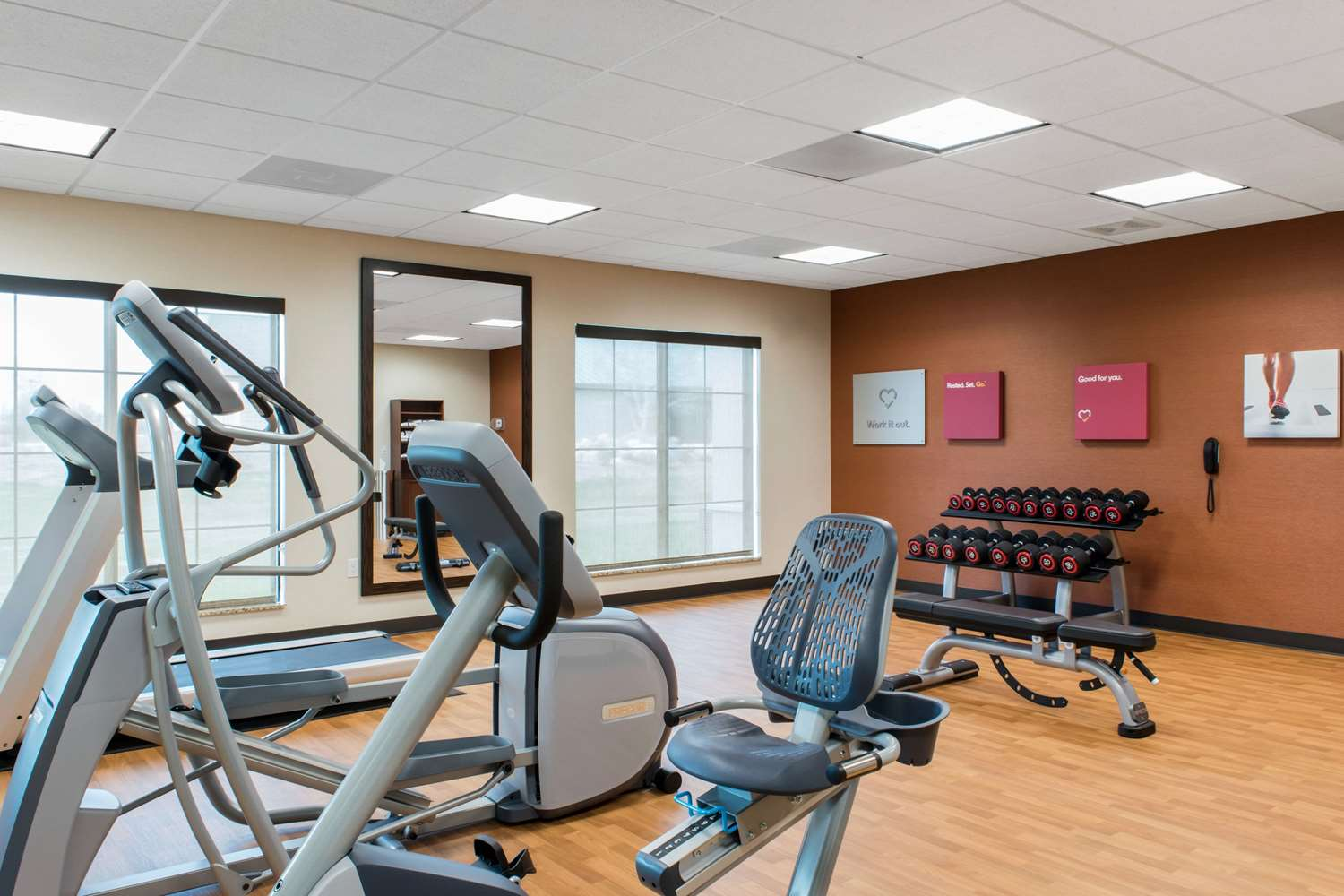 Fitness/ Exercise Room - Comfort Suites Zoo Montana Billings