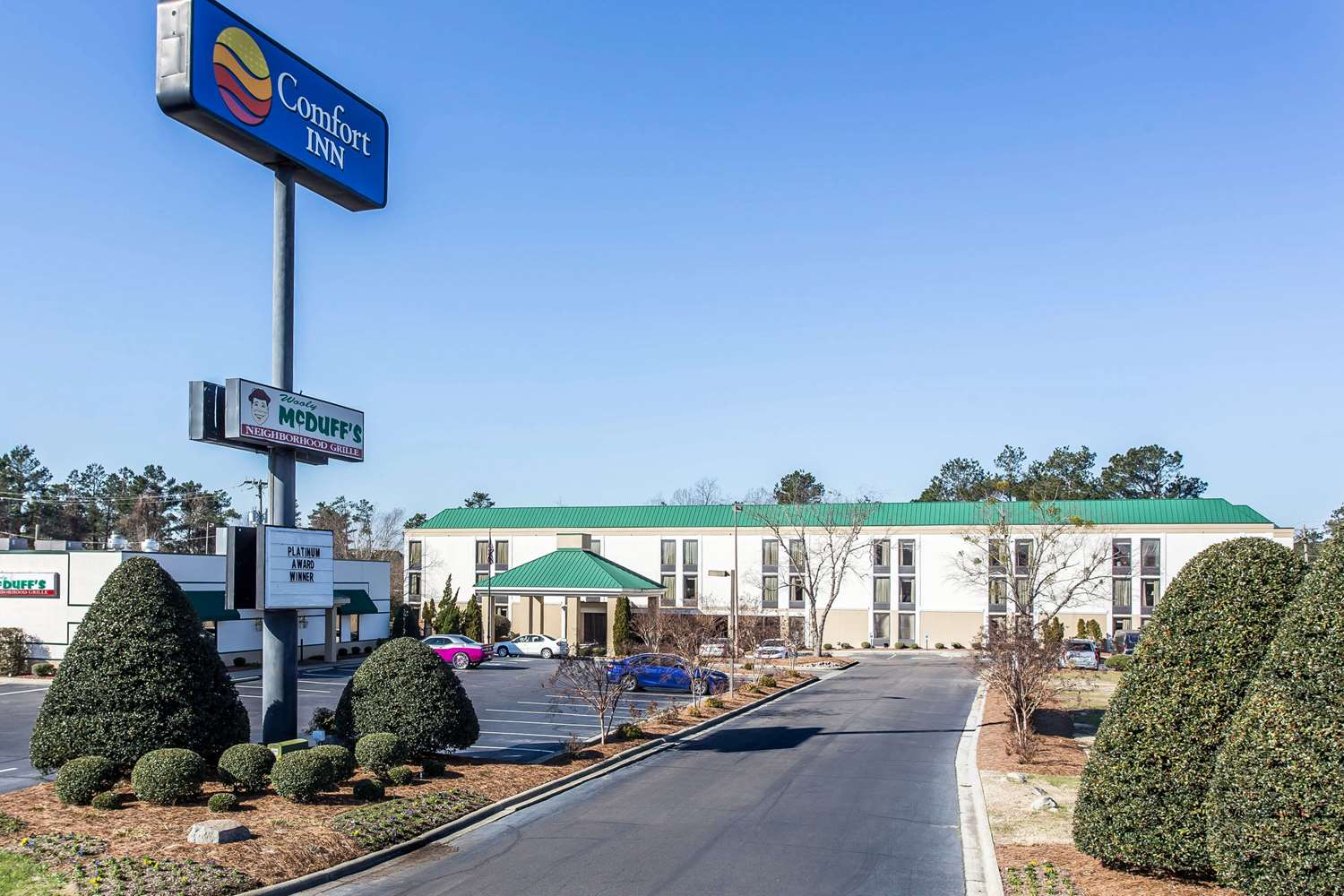 Exterior view - Comfort Inn Laurinburg