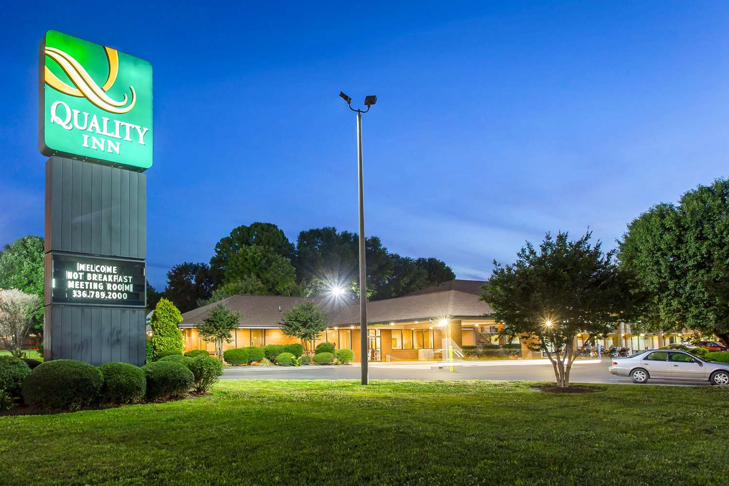 Exterior view - Quality Inn Mt Airy