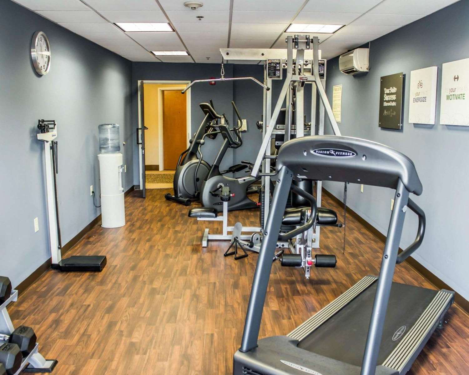 Fitness/ Exercise Room - Comfort Suites Clayton