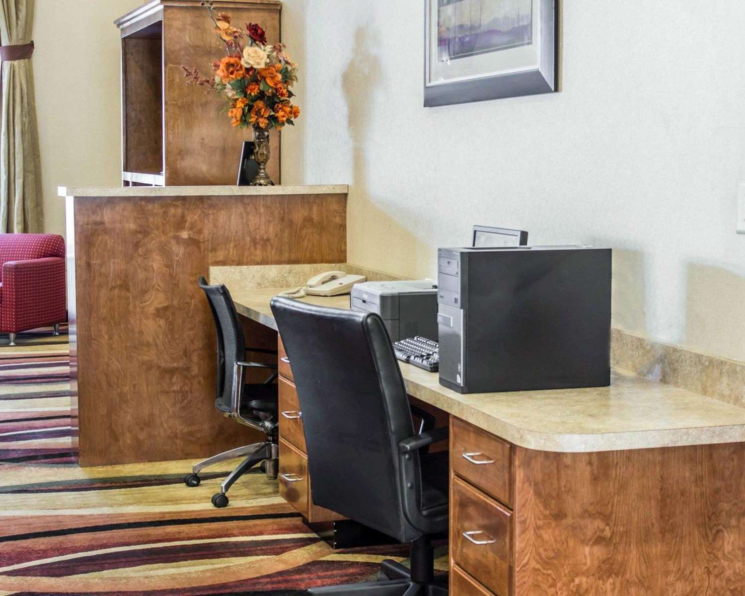 Conference Area - Comfort Suites Clayton