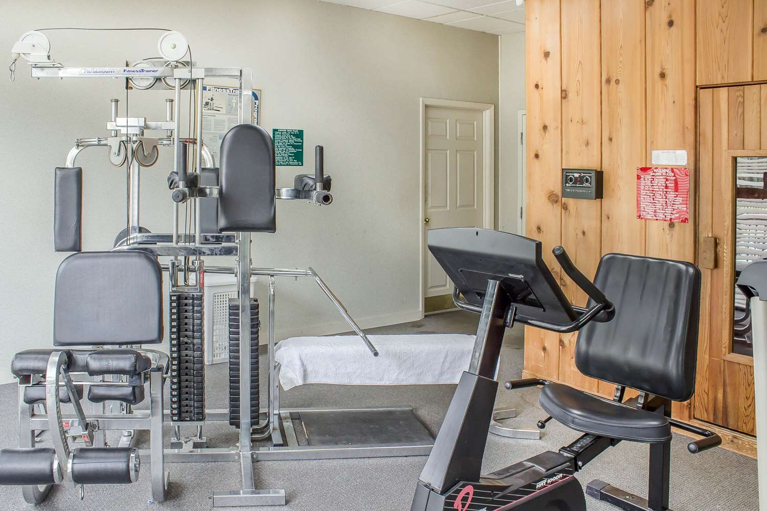 Fitness/ Exercise Room - Econo Lodge Sanford