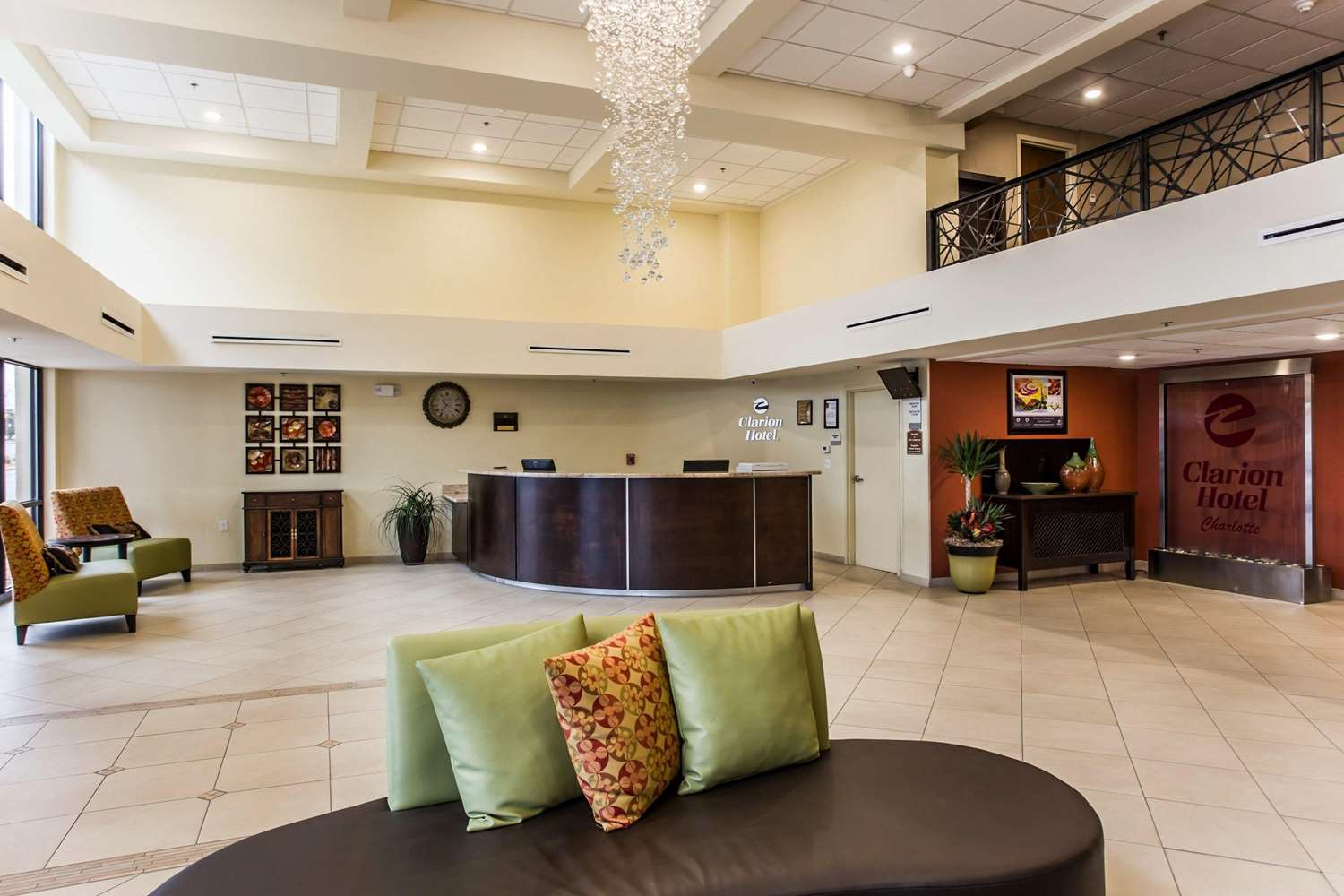 Lobby - Clarion Hotel Airport & Conference Center Charlotte
