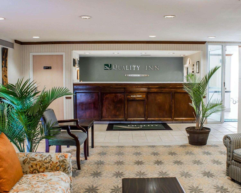Lobby - Quality Inn Rocky Mount