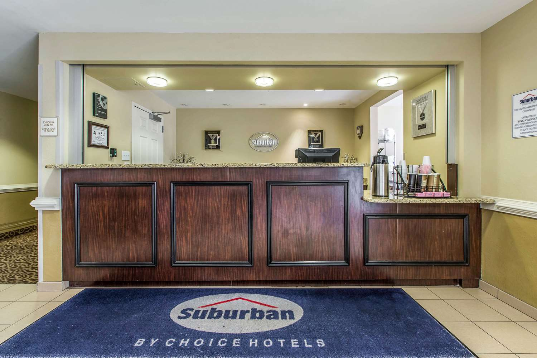 Lobby - Suburban Extended Stay Hotel Jacksonville