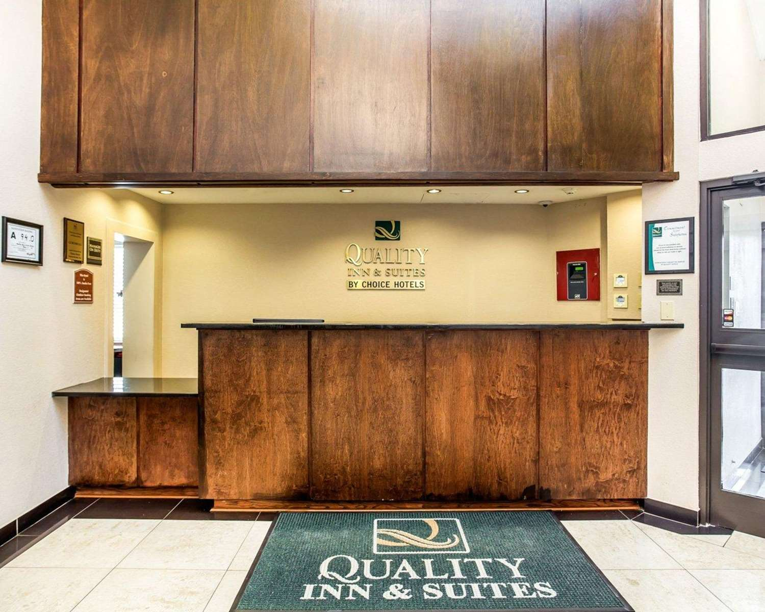 Lobby - Quality Inn & Suites Coliseum Greensboro