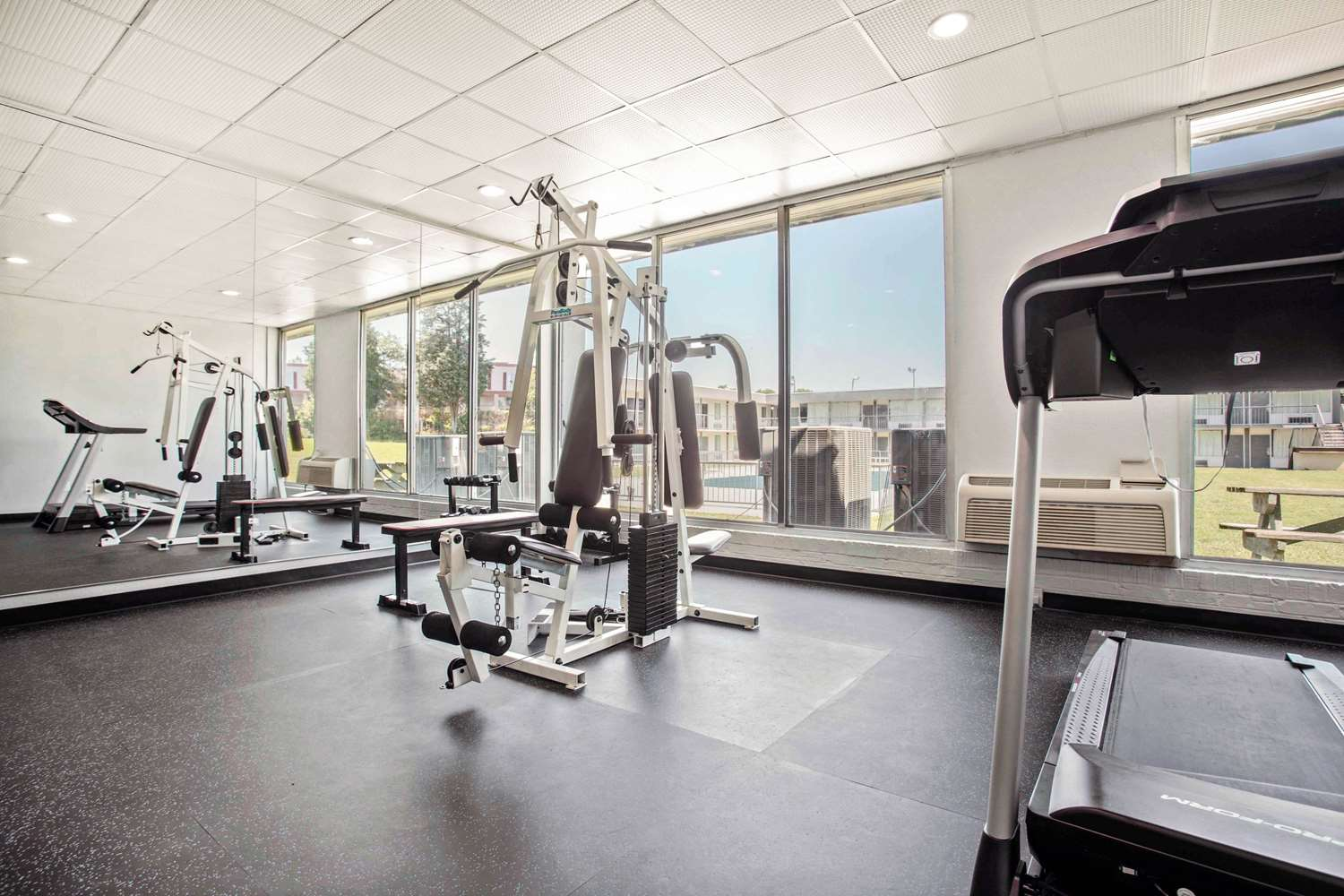 Fitness/ Exercise Room - Quality Inn & Suites North Charlotte