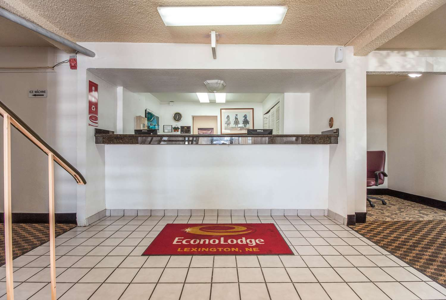 Lobby - Econo Lodge Lexington