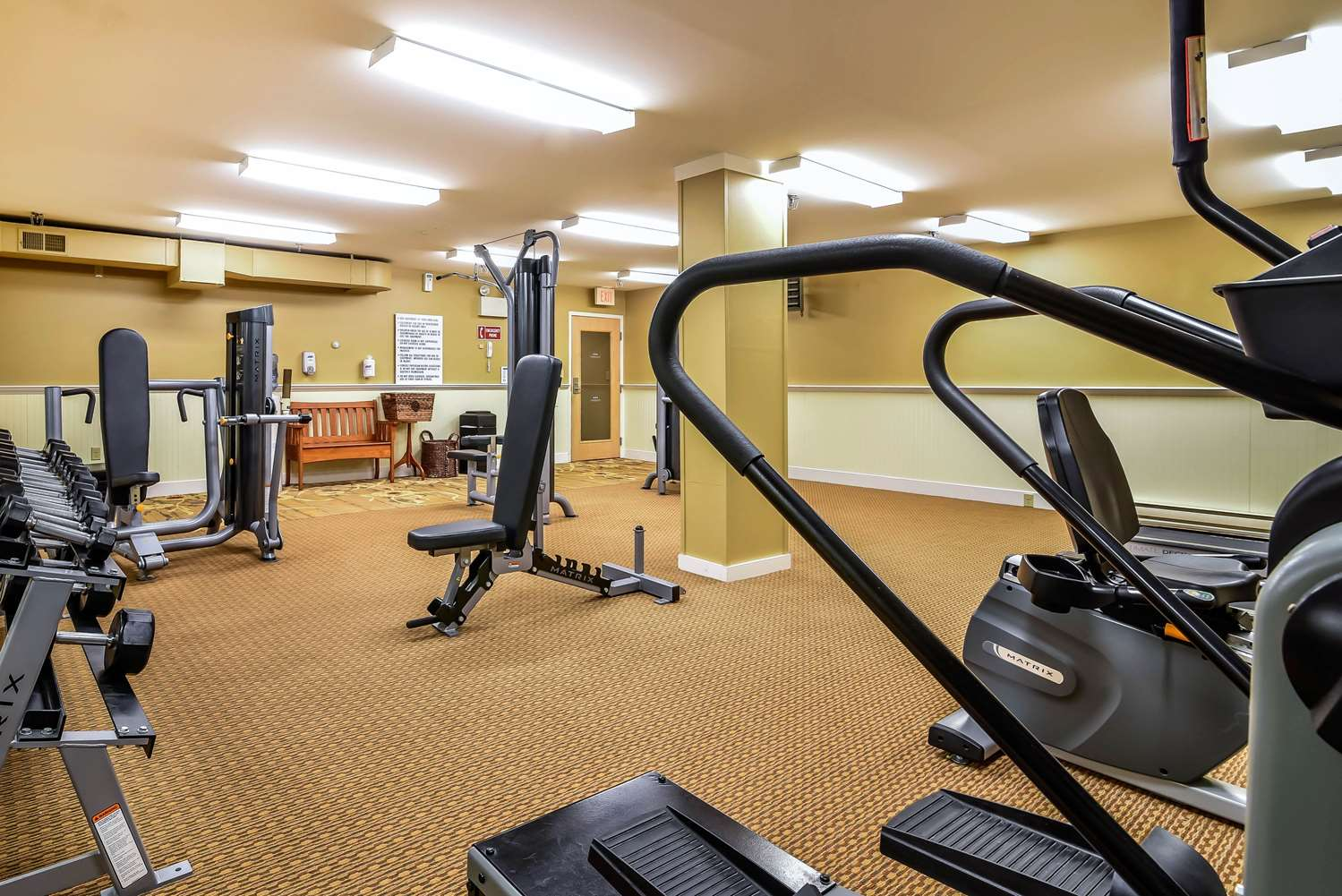 Fitness/ Exercise Room - South Mountain Hotel by InnSeason Resorts Lincoln