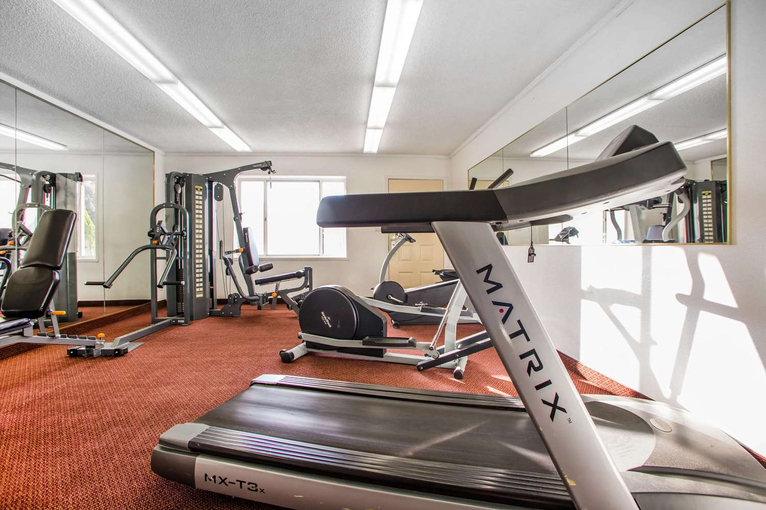 Fitness/ Exercise Room - Quality Inn & Suites Millville