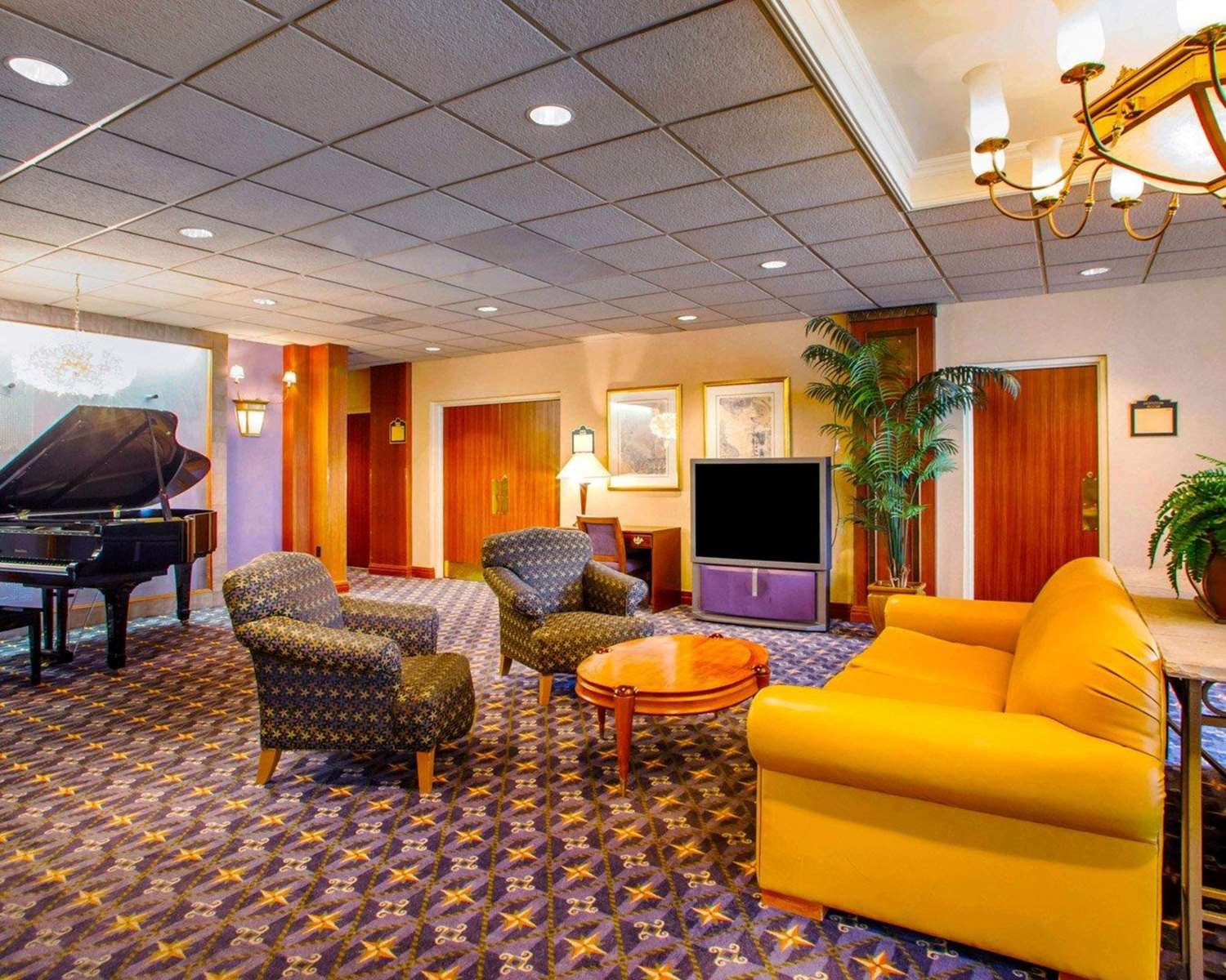 Lobby - Quality Inn Meadowlands Lyndhurst